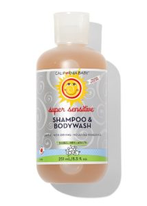 california best shampoo baby eczema